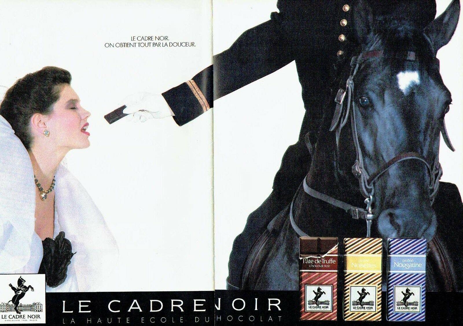 1985 chocolat Cadre Noir A2
