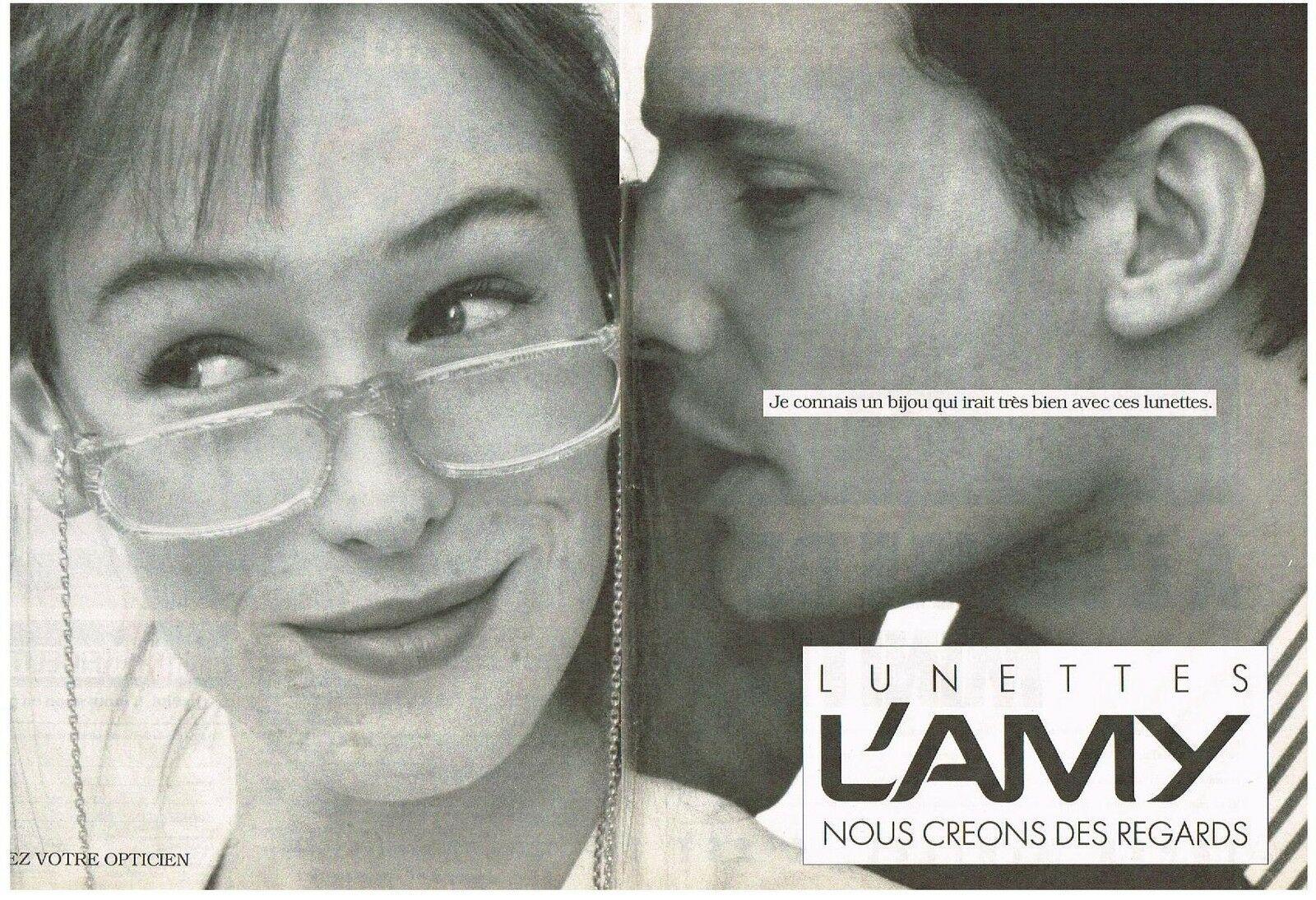 1988 L'AMY lunettes