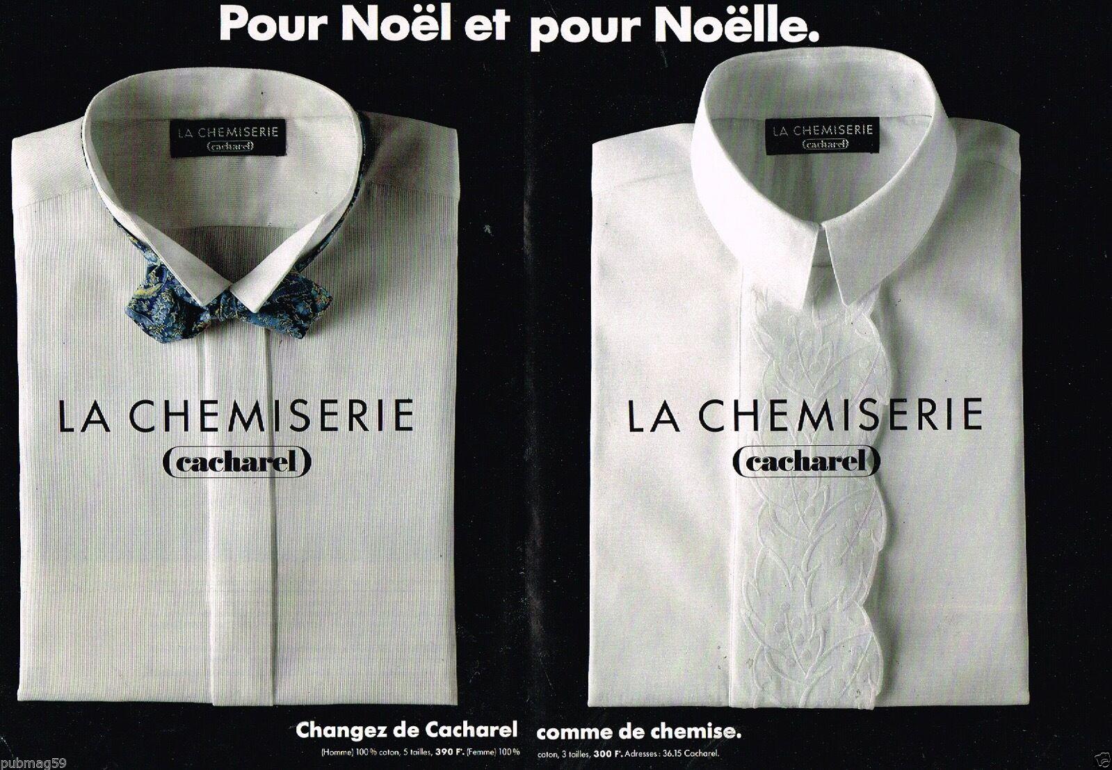 1989 Chemises et chemisiers cacharel