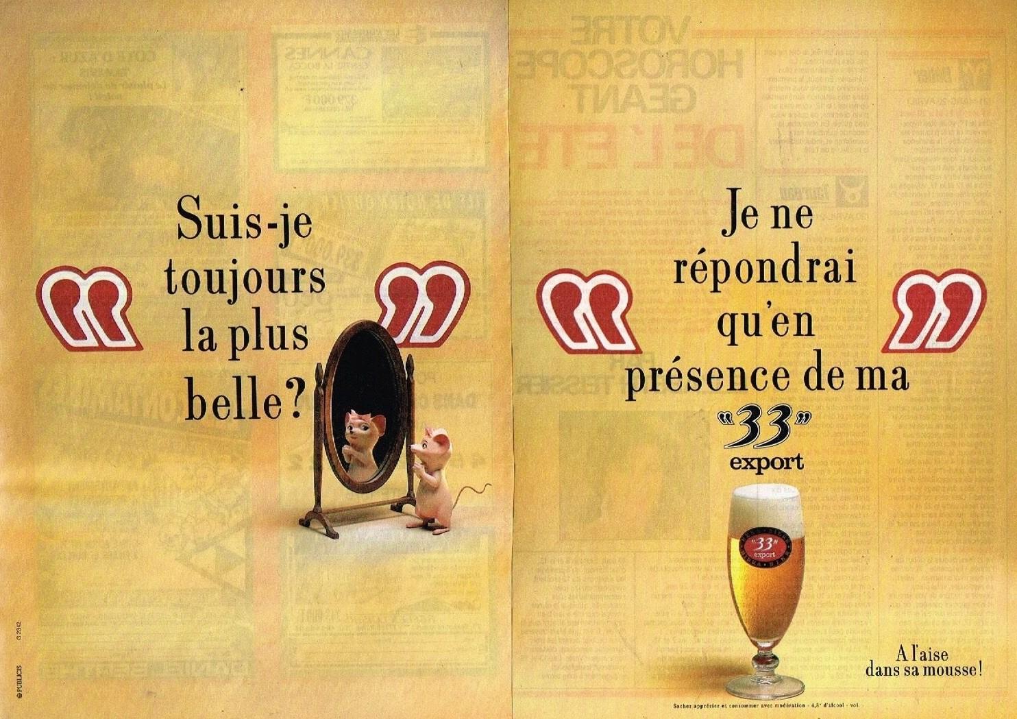 1990 La Biere 33 Export A3