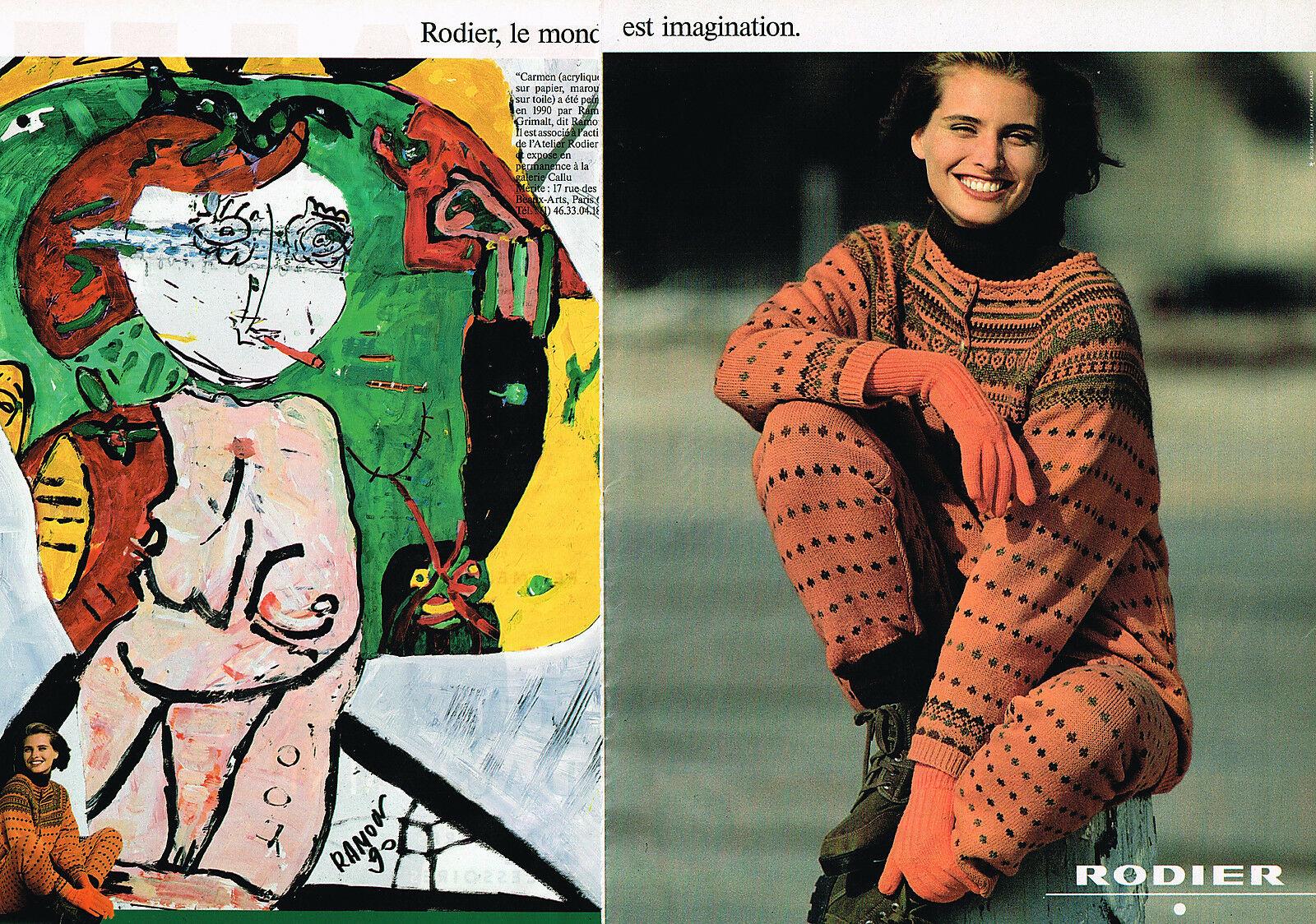 1990 Rodier A1 Carmen, par Ramon Grivalt