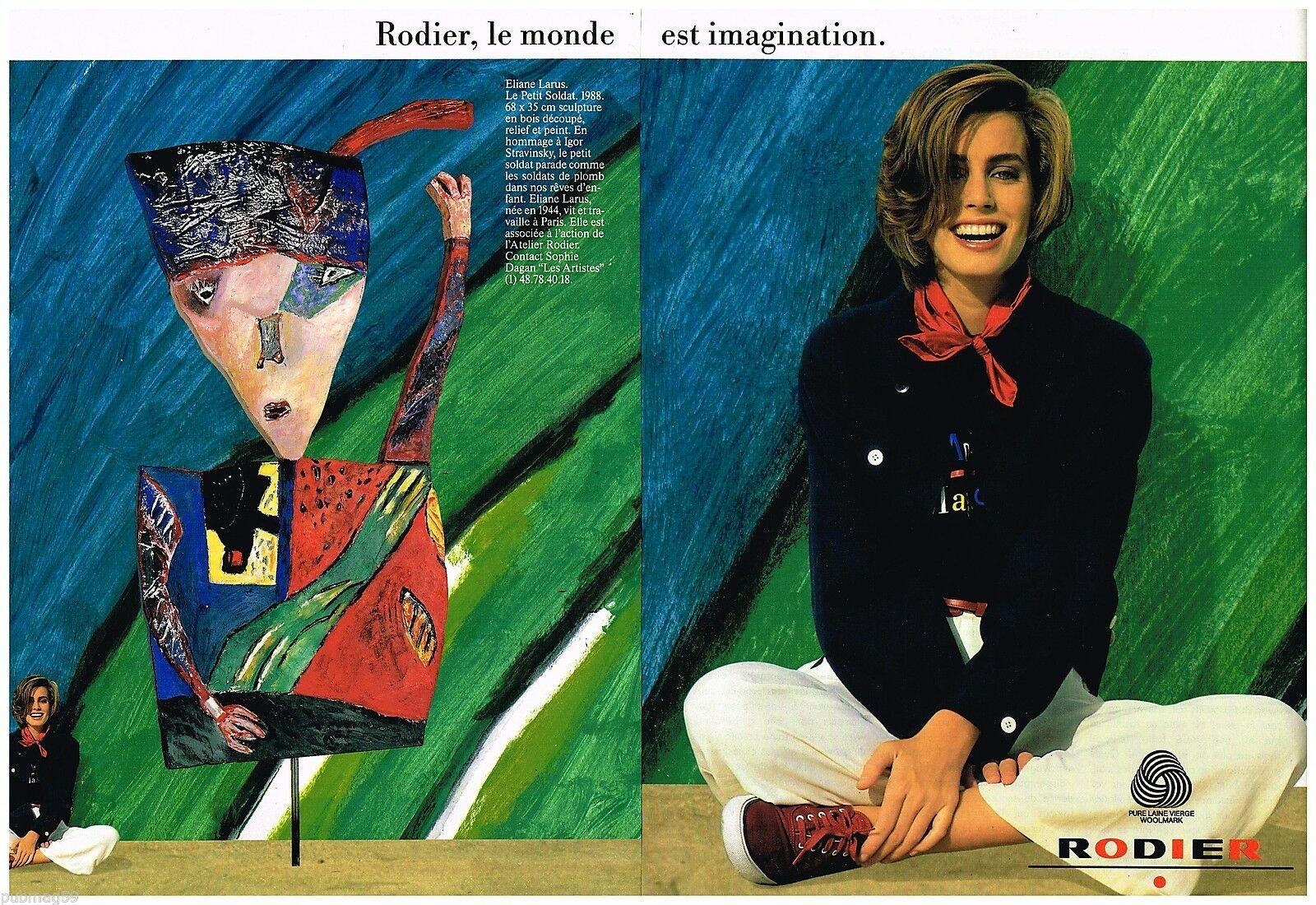 1990 Rodier A2 Le petit soldat par Eliane Larus