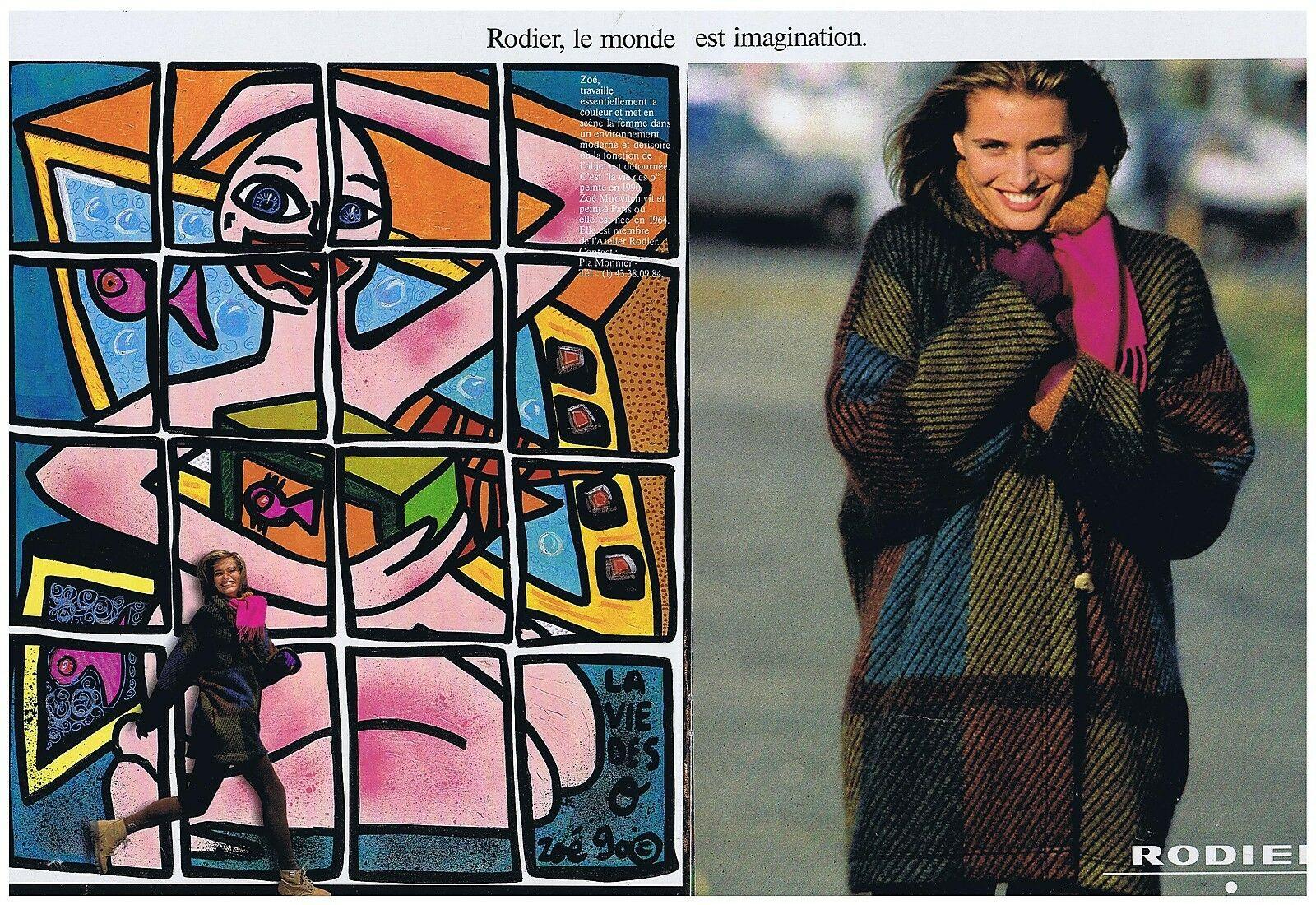 1990 Rodier A3 La vie des O, par Zoe Mirovitch