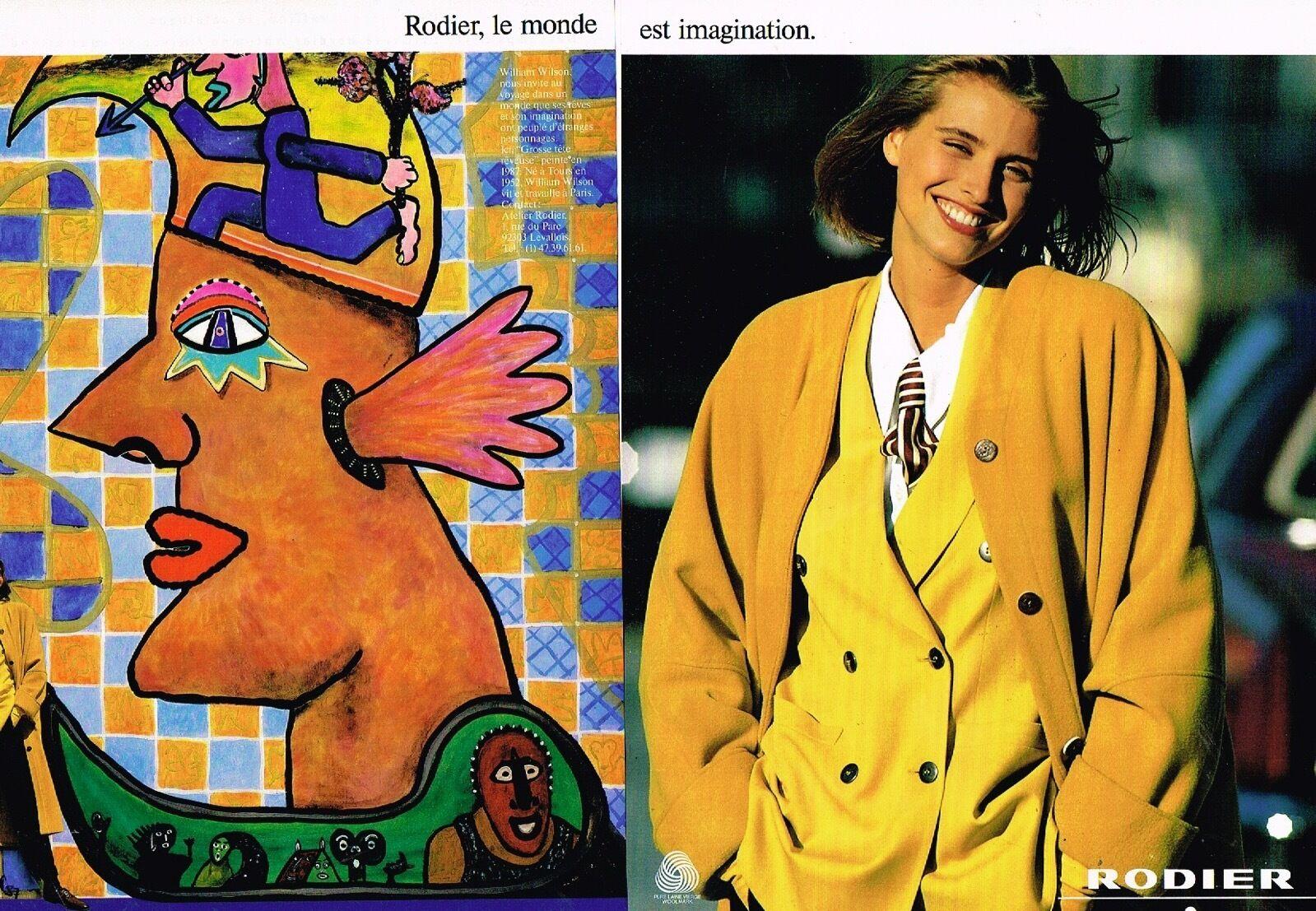 1990 Rodier A4 Grosse tete reveuse par William Wilson