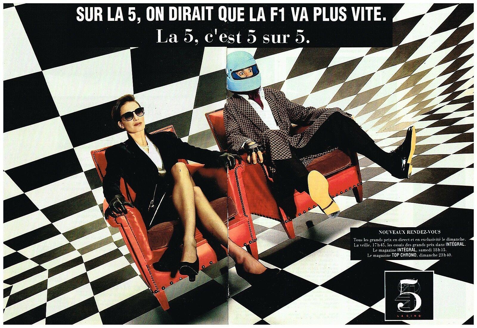 1991 Chaine Television La Cinq