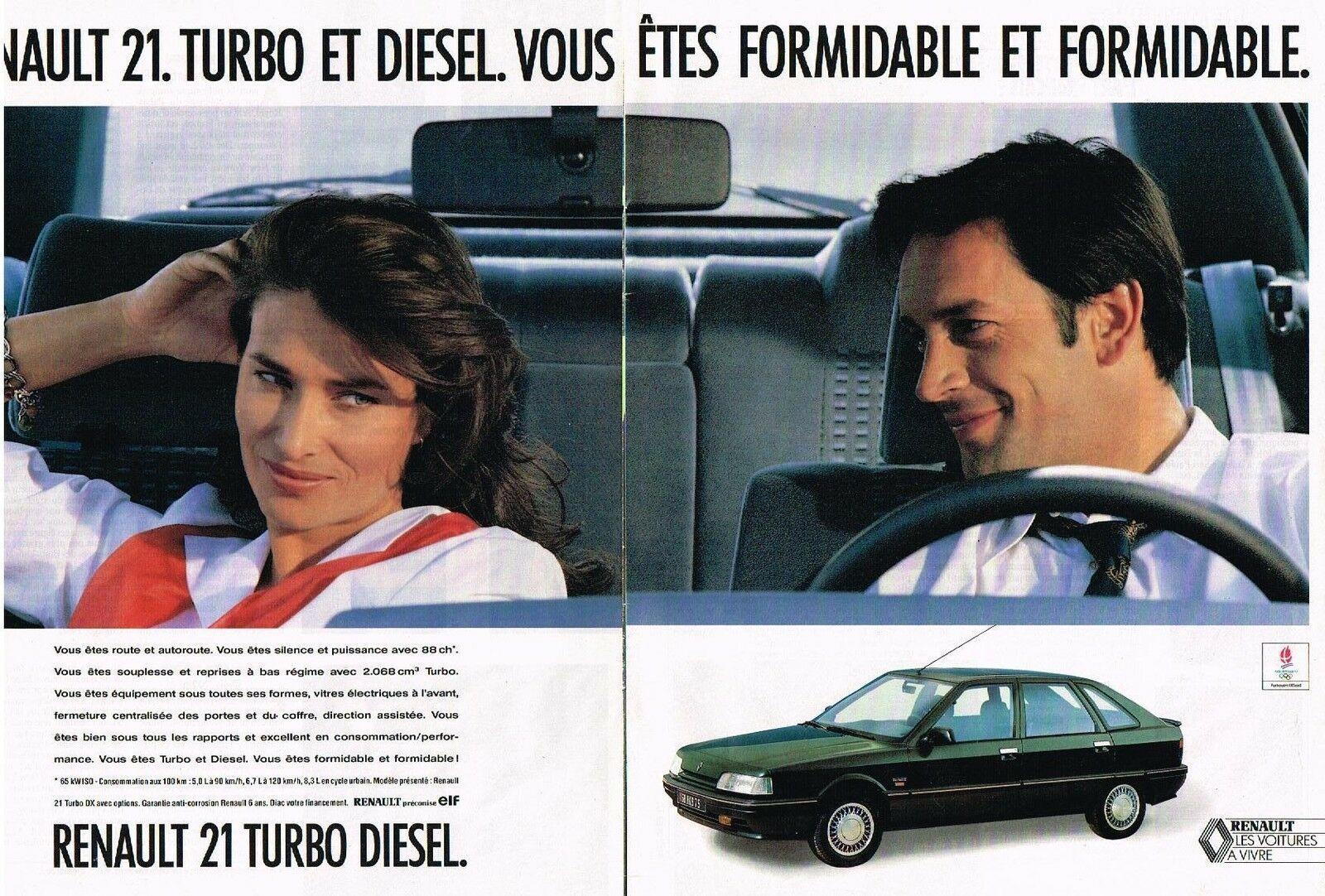 1991 RENAULT 21 TURBO DIESEL