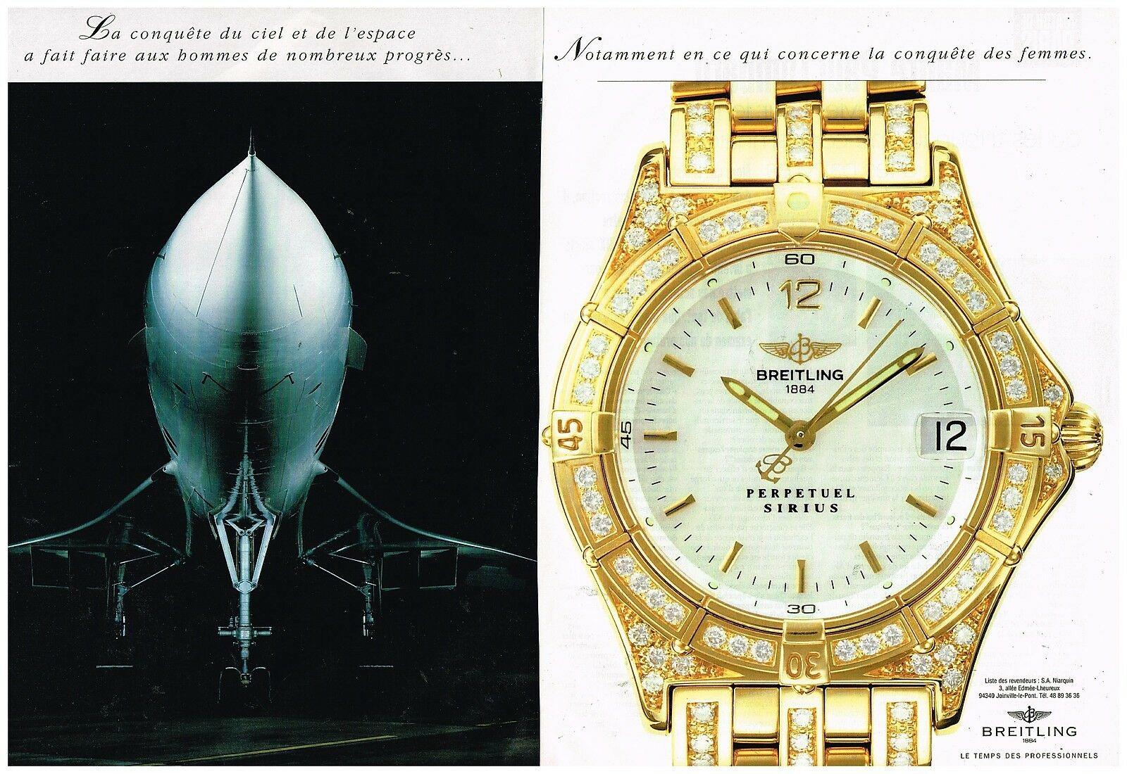 1995 Montre Breitling Perpetuel Sirius