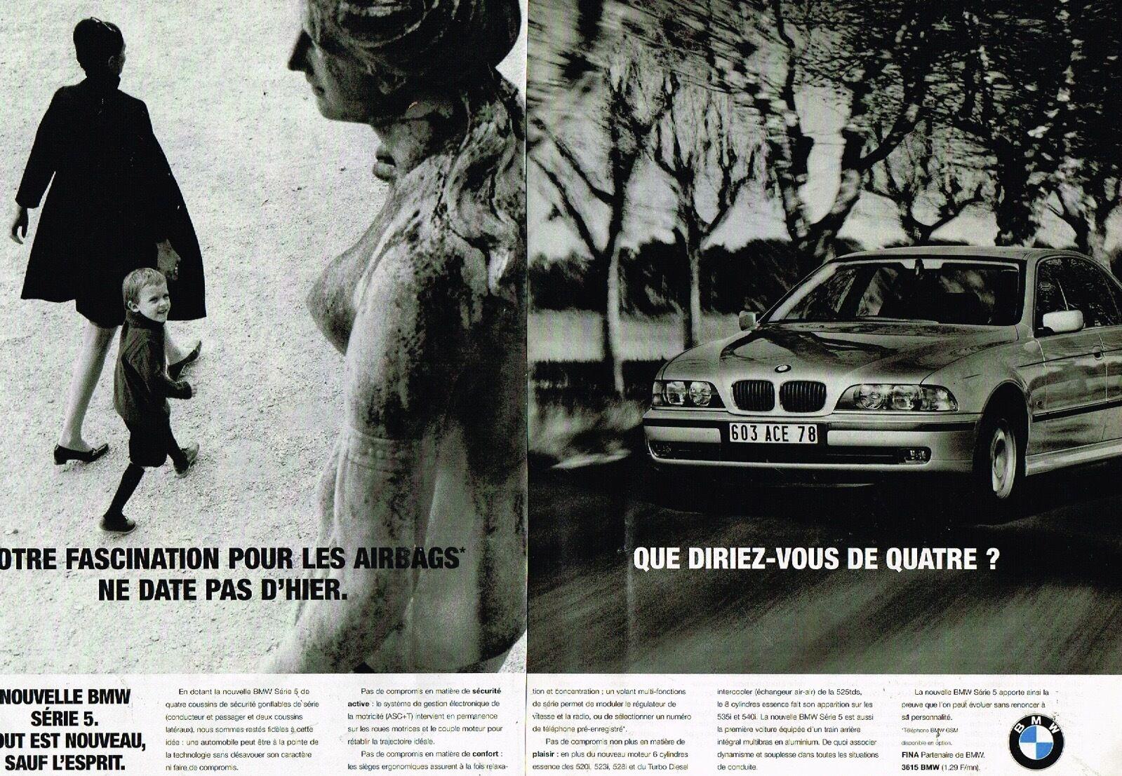 1996 Nouvelle BMW Serie 5