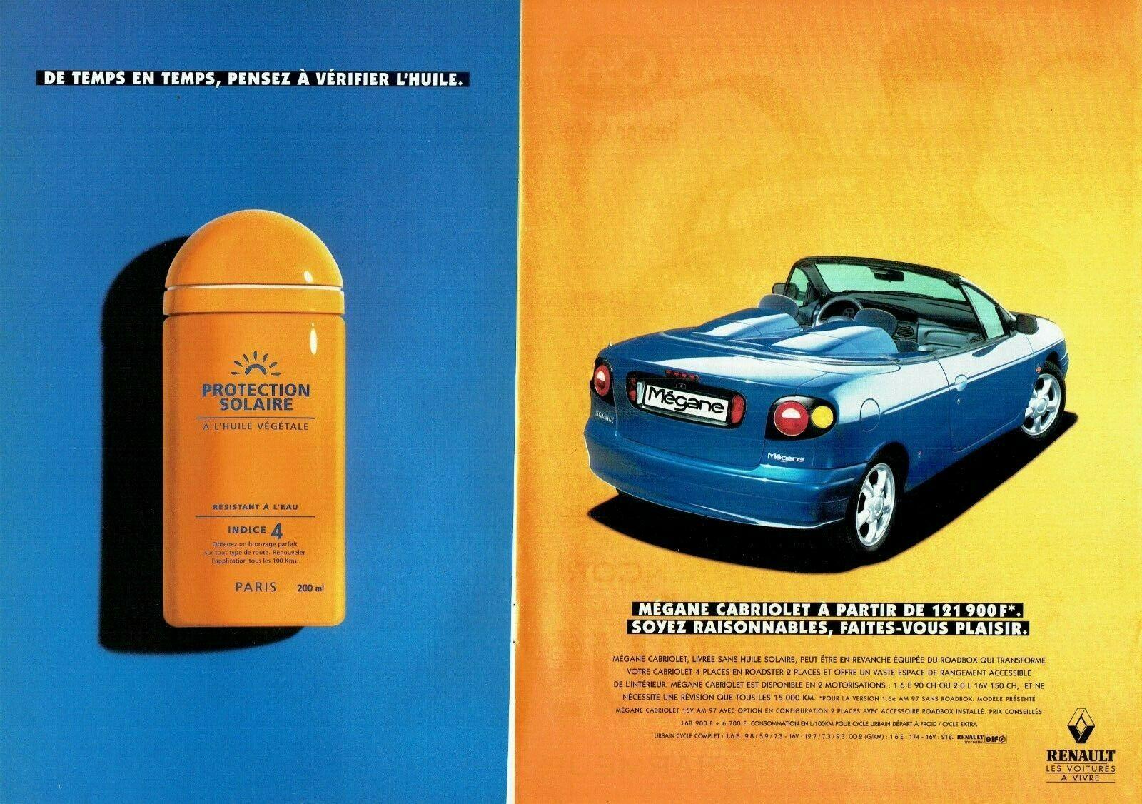 1997 Renault la Mégane Cabriolet