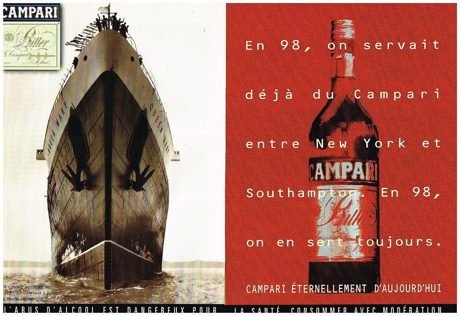 1998 Campari Paquebot Queen mary