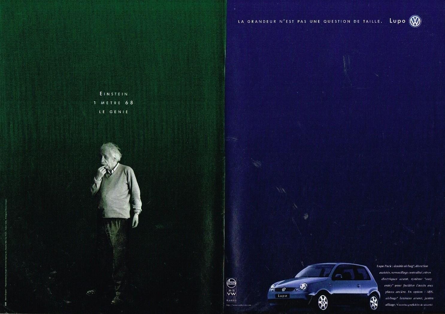 1998 VW Volkswagen Lupo avec Einstein