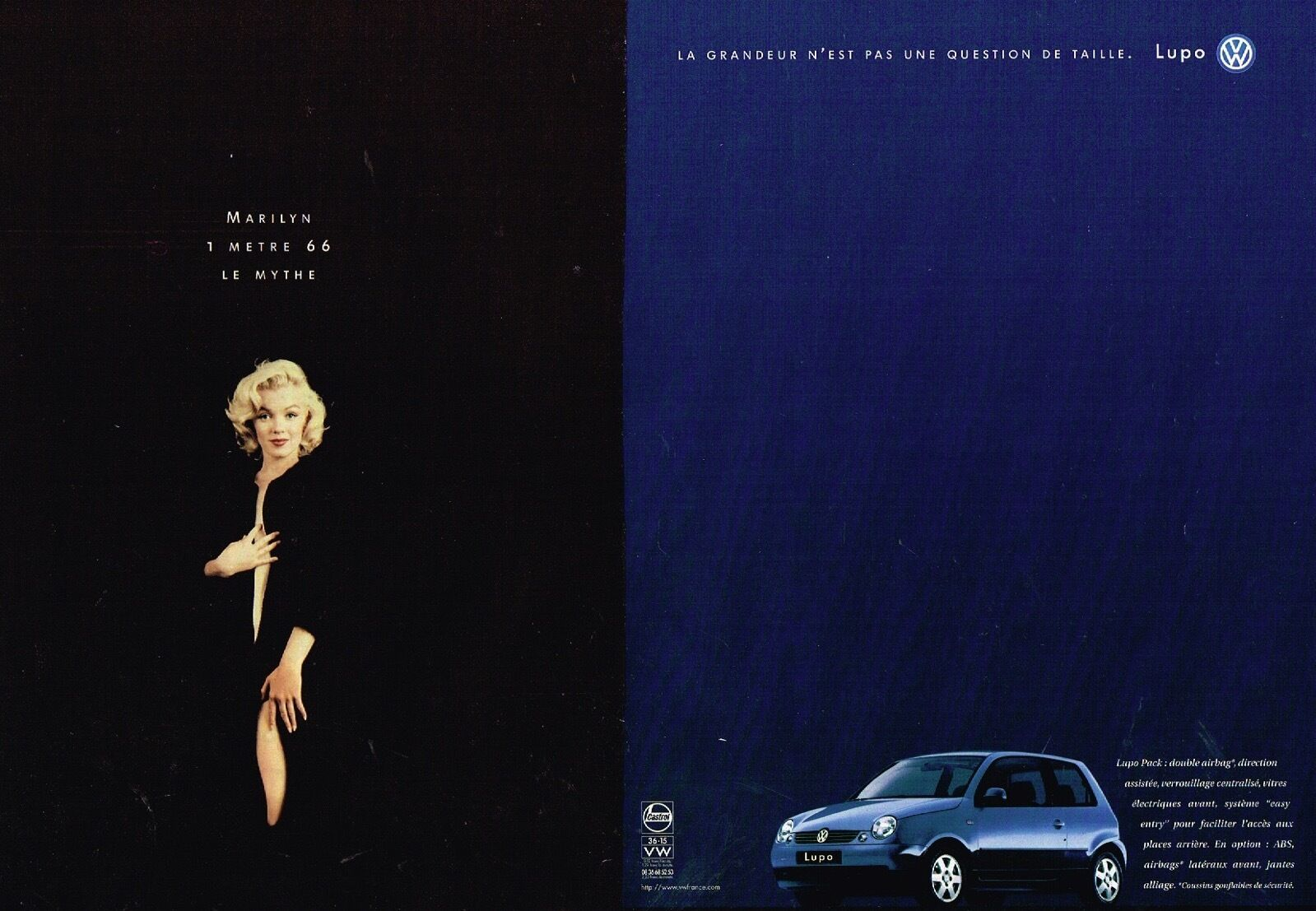 1998 Volkswagen Lupo Marilyn Monroe