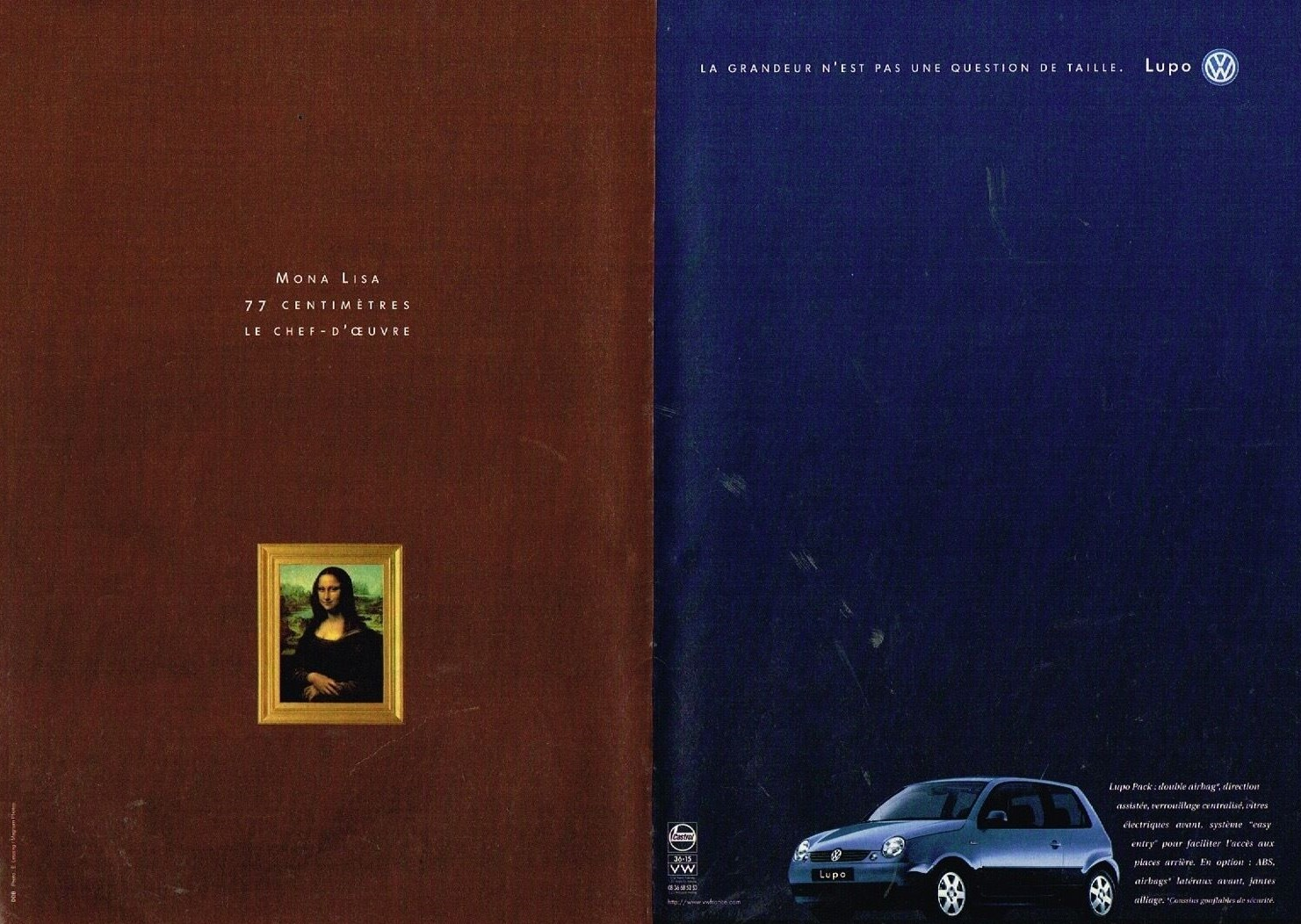 1998 Volkswagen Lupo avec Mona Lisa