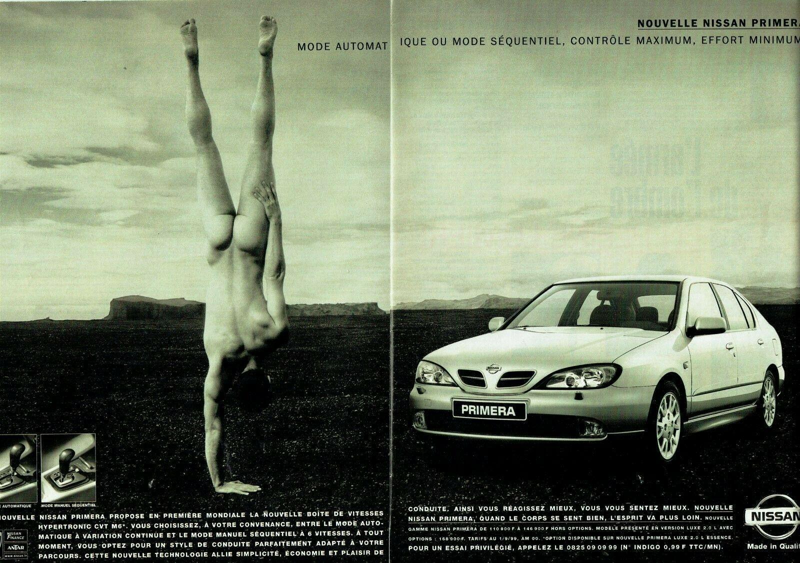 1999 Nissan Primera mode sequentiel