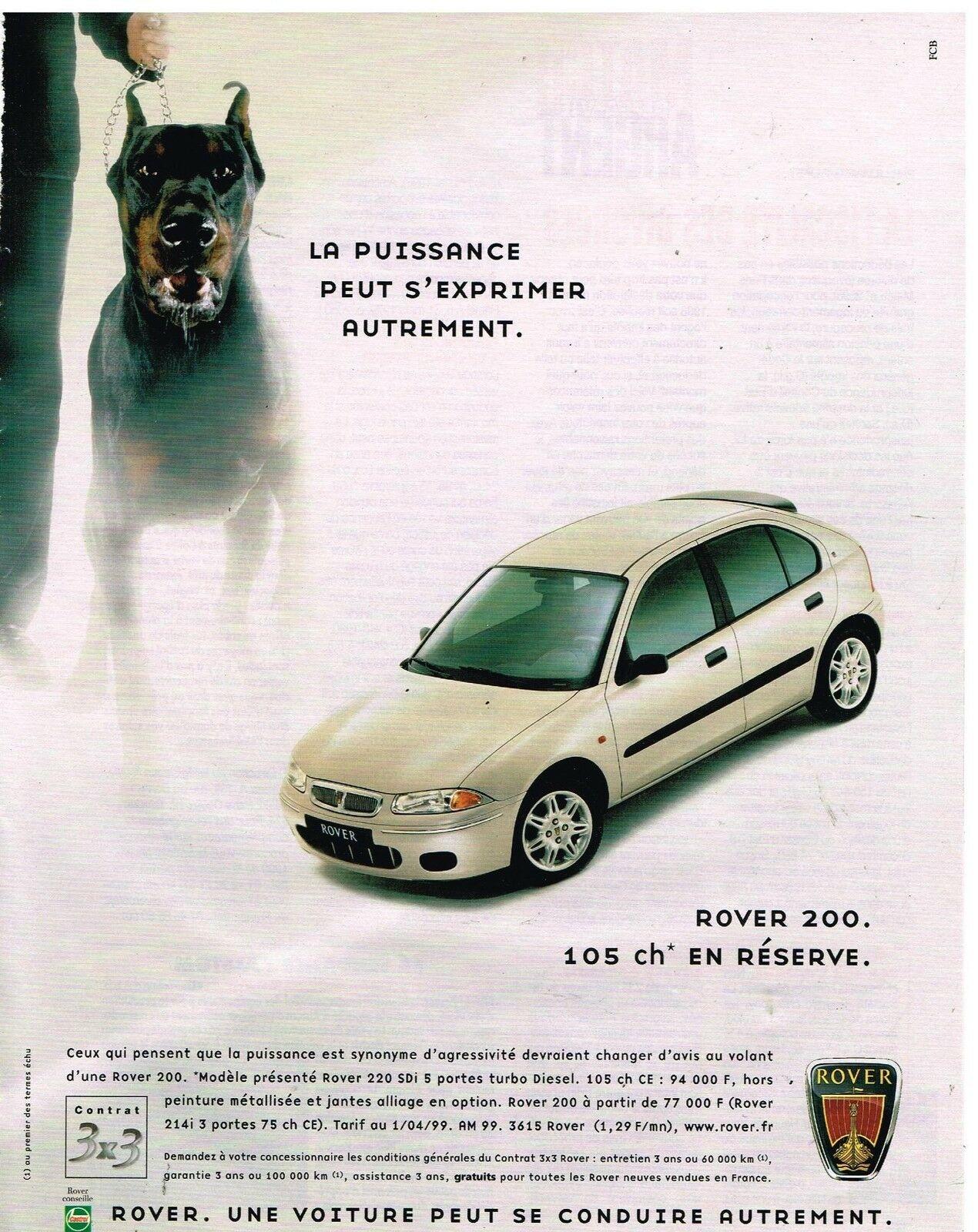 1999 ROVER 200 A1