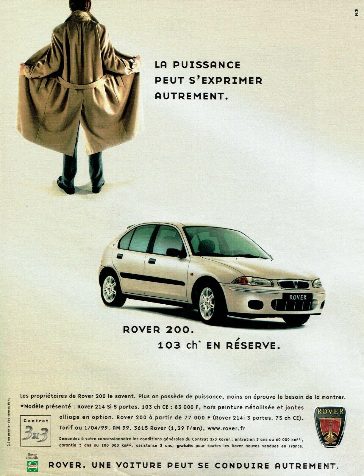 1999 ROVER 200 A2