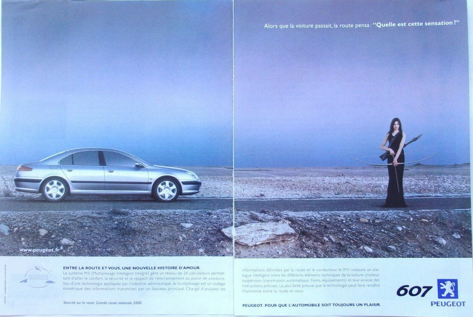 2000 Peugeot 607 A2