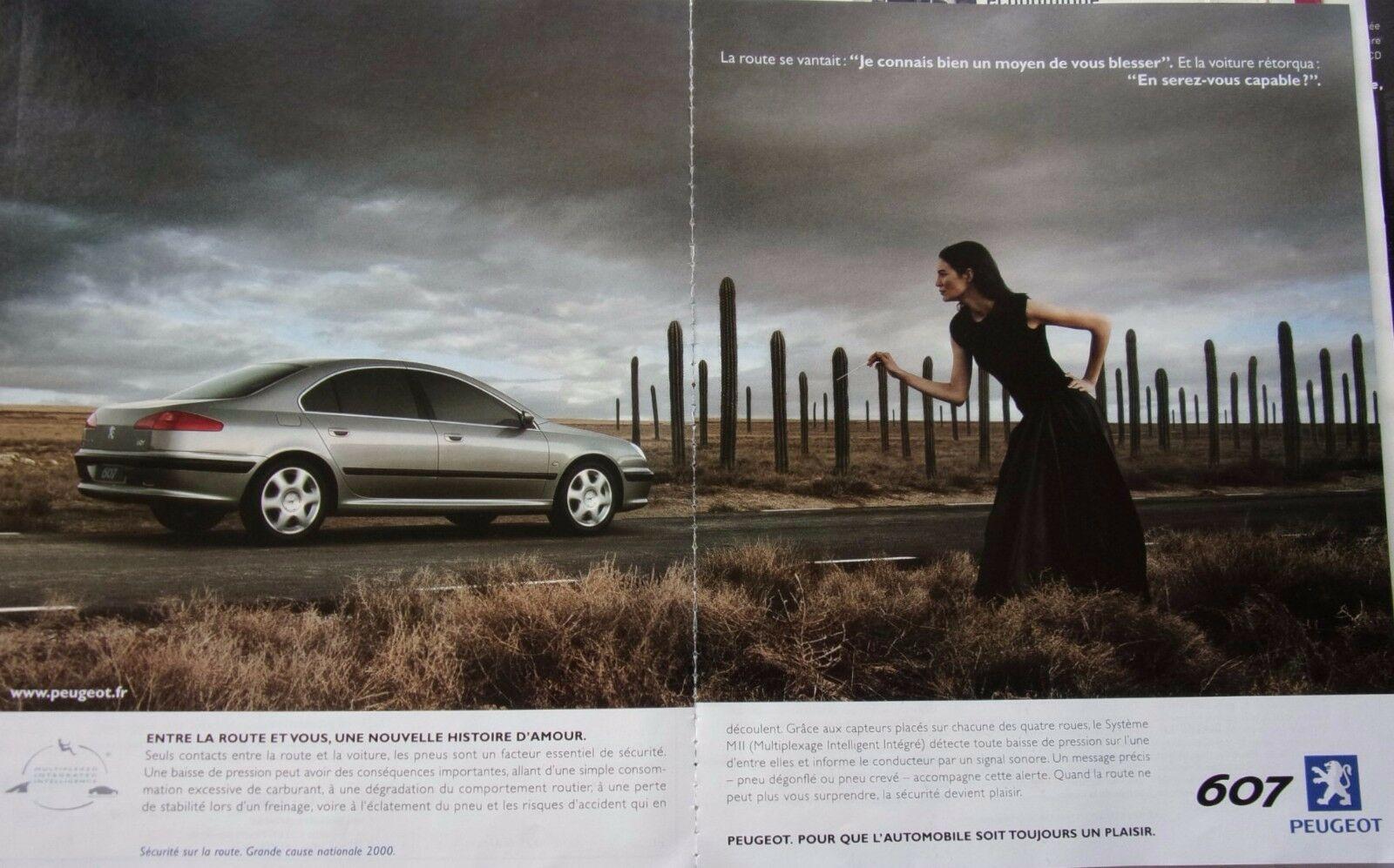 2000 Peugeot 607 A4