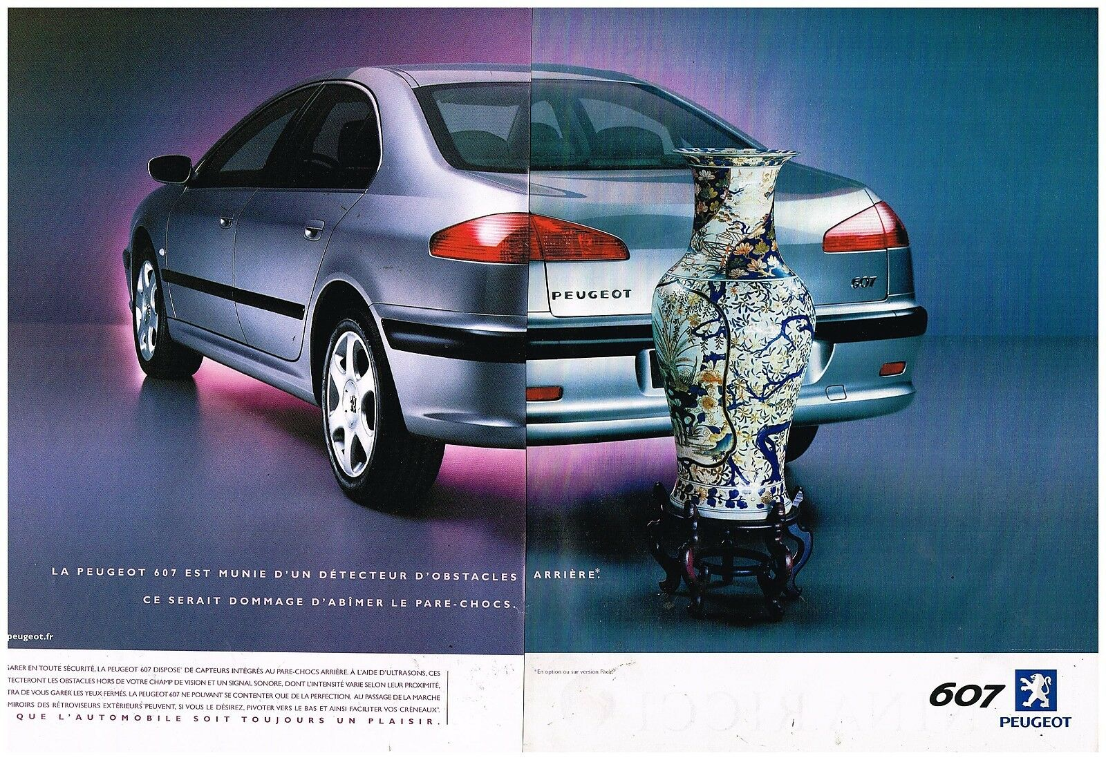 2001 Peugeot 607