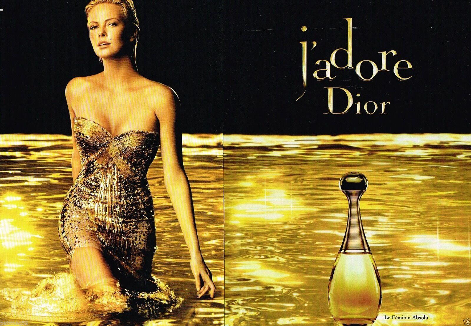 Parfum Dior 2010 J'adore Charlize Theron A1