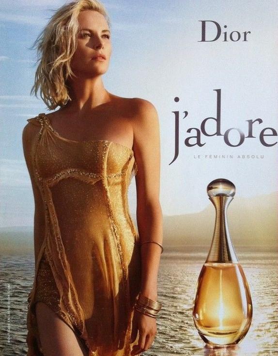 Parfum Dior 2016 J'adore Charlize Theron Jean Baptiste Mondino monopage