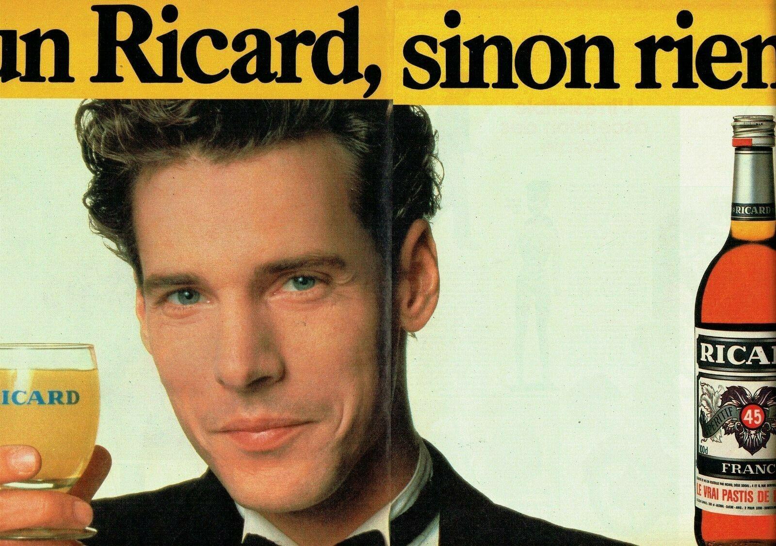 Ricard 1985 Un Ricard sinon rien homme