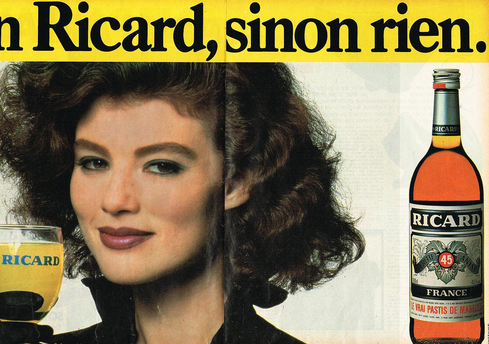 Ricard 1985 Un Ricard sinon rien