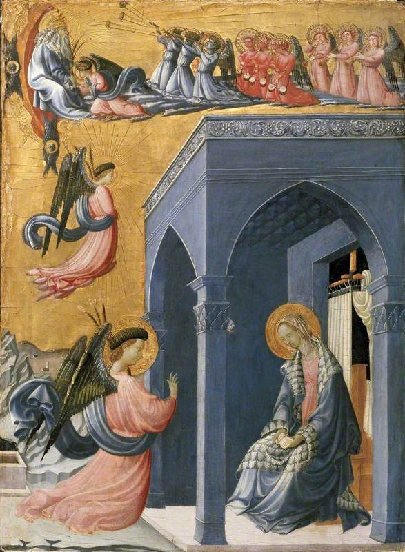Uccello, Paolo, 1397-1475; The Annunciation