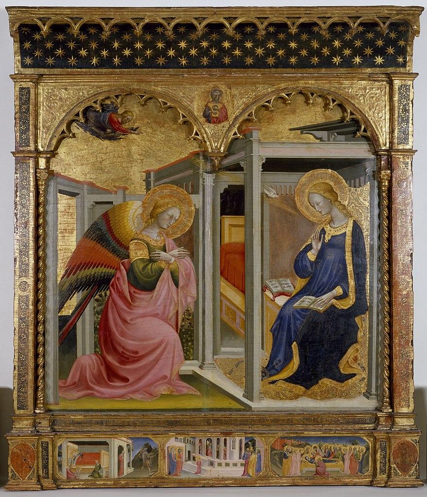 Annonciation 1430 Bicci di Lorenzo Walters Art Museum Baltimore