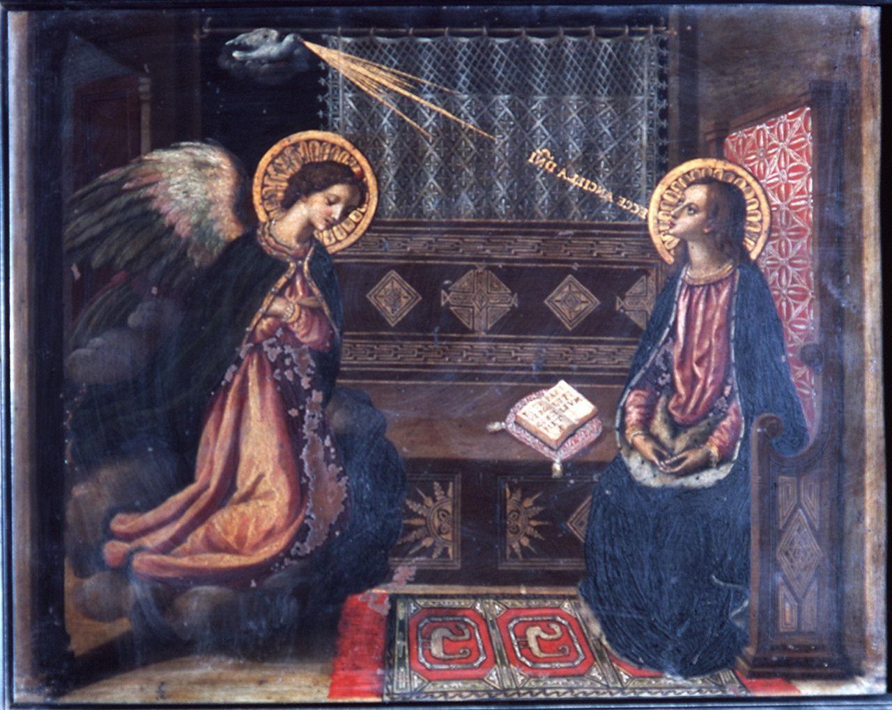 Annonciation 1580 Allori copie de l'Annunziata Milano Duomo