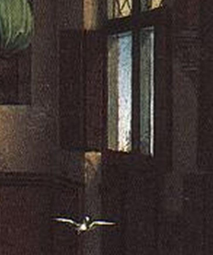 Rogier_van_der_Weyden_-_Annunciation_-_Musee des BA Anvers detail volets