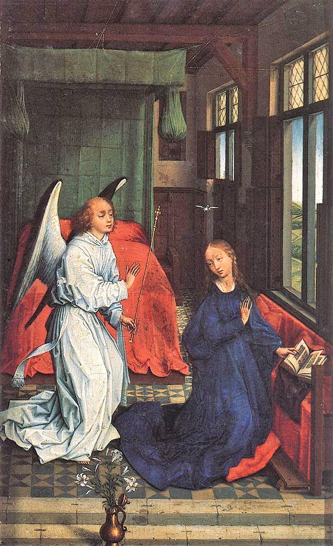 Rogier_van_der_Weyden_-_Annunciation_-_Musee des BA Anvers