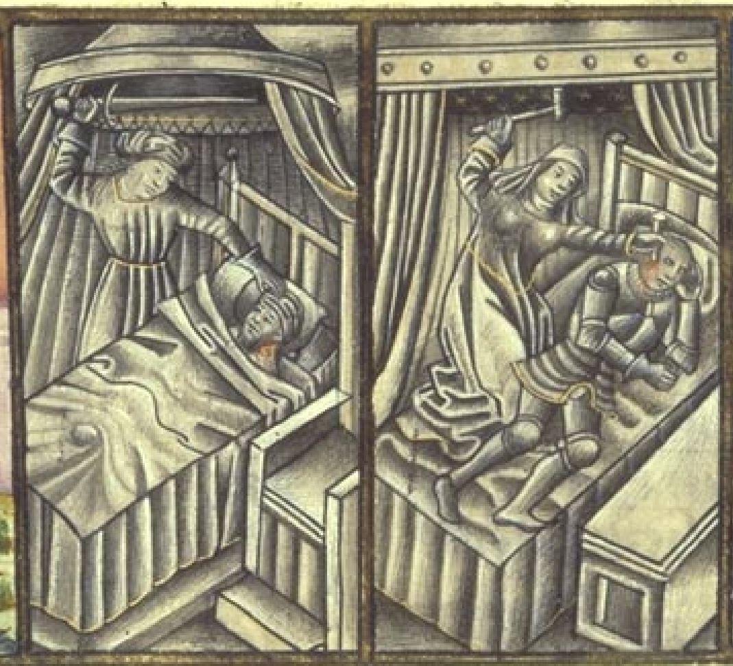 Speculum humanae salvationis 1454-55 Glasgow, University Library → Hunter 60 (T.2.18), fol. 43