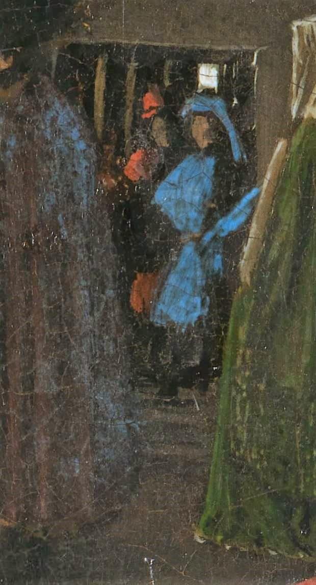 Van_Eyck 1434 _Arnolfini_Portrait couloir