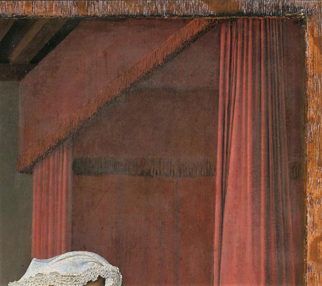 Van_Eyck 1434 _Arnolfini_Portrait suspension lit