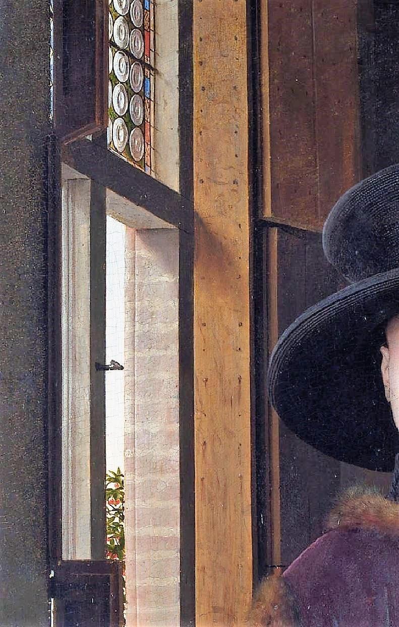 Van_Eyck 1434 _Arnolfini_Portrait volets