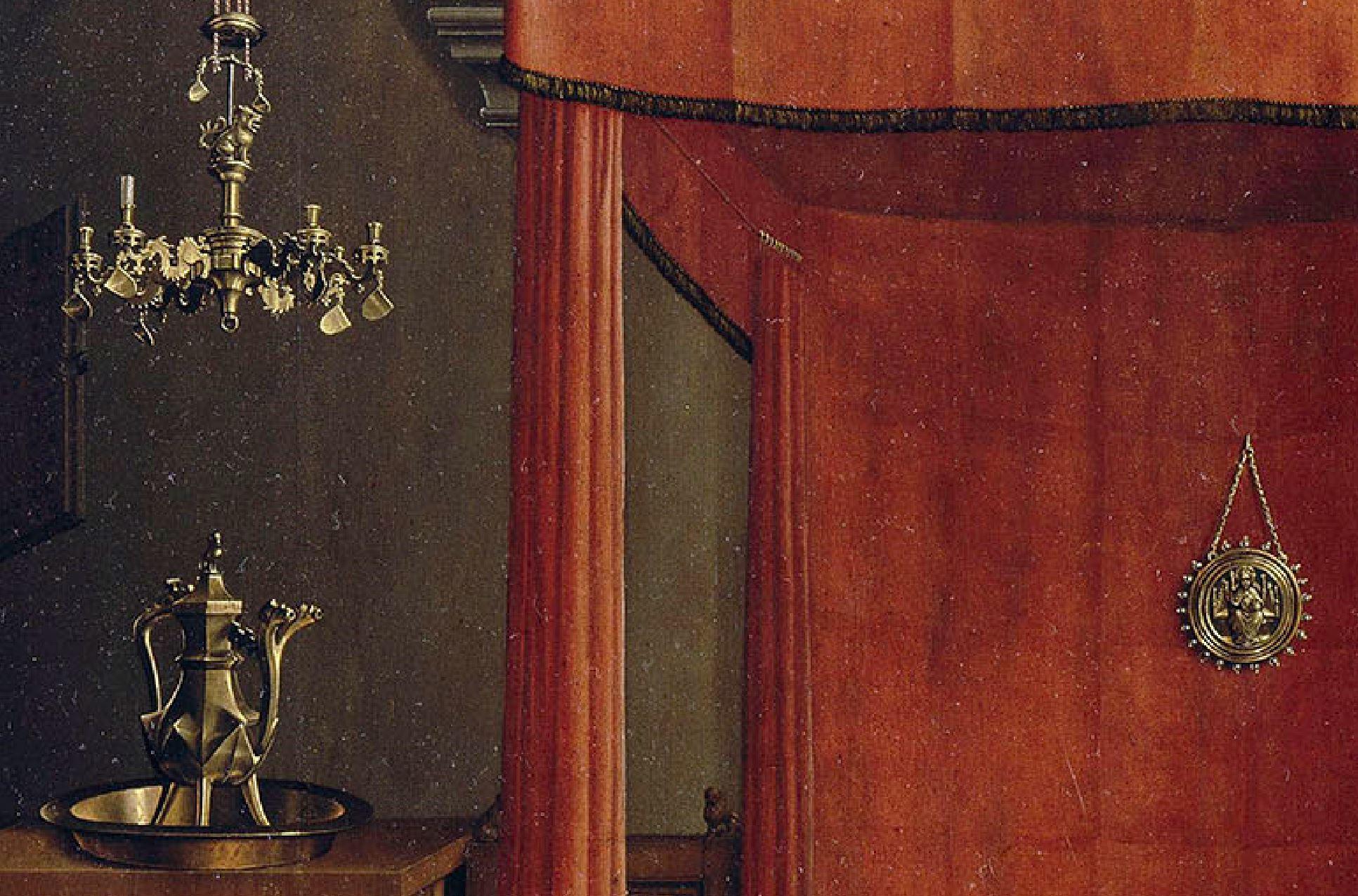 van der weyden 1434 ca annonciation Louvre objets