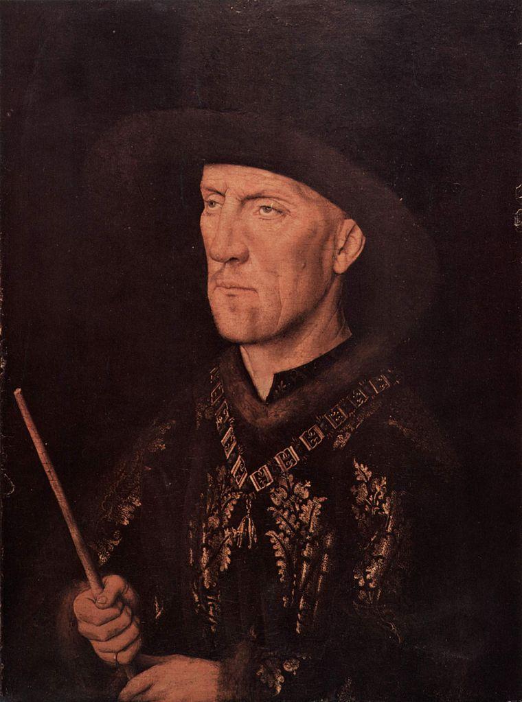 Jan_van_Eyck 1435 ca Baudouin_de_Lannoy Gemaldegalerie Berlin