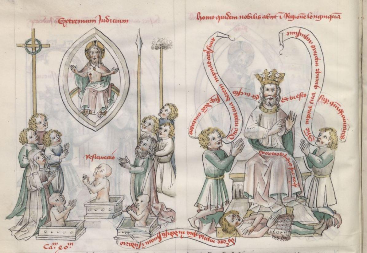Speculum humanae salvationis, 1400-20, BNF lat. 512, fol. 41v