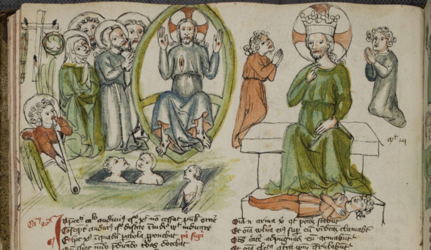 Speculum humanae salvationis, 1400-20, Neustift bei Brixen (Novacella), Stiftsbibliothek, Cod. 166