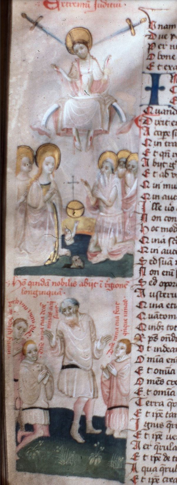 Speculum humanae salvationis 1415 -1425, Kanonie sv. Petra a Pavla 80, fol. 44v complet