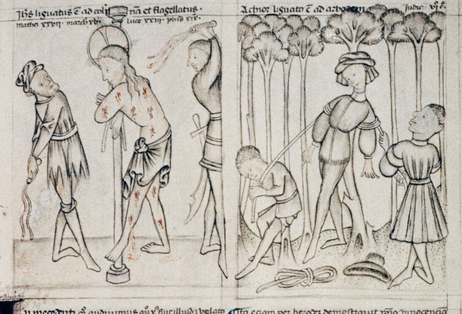 Speculum humanae salvationis 1430-50 Oxford, Bodleian Library Douce 204, fol. 20r