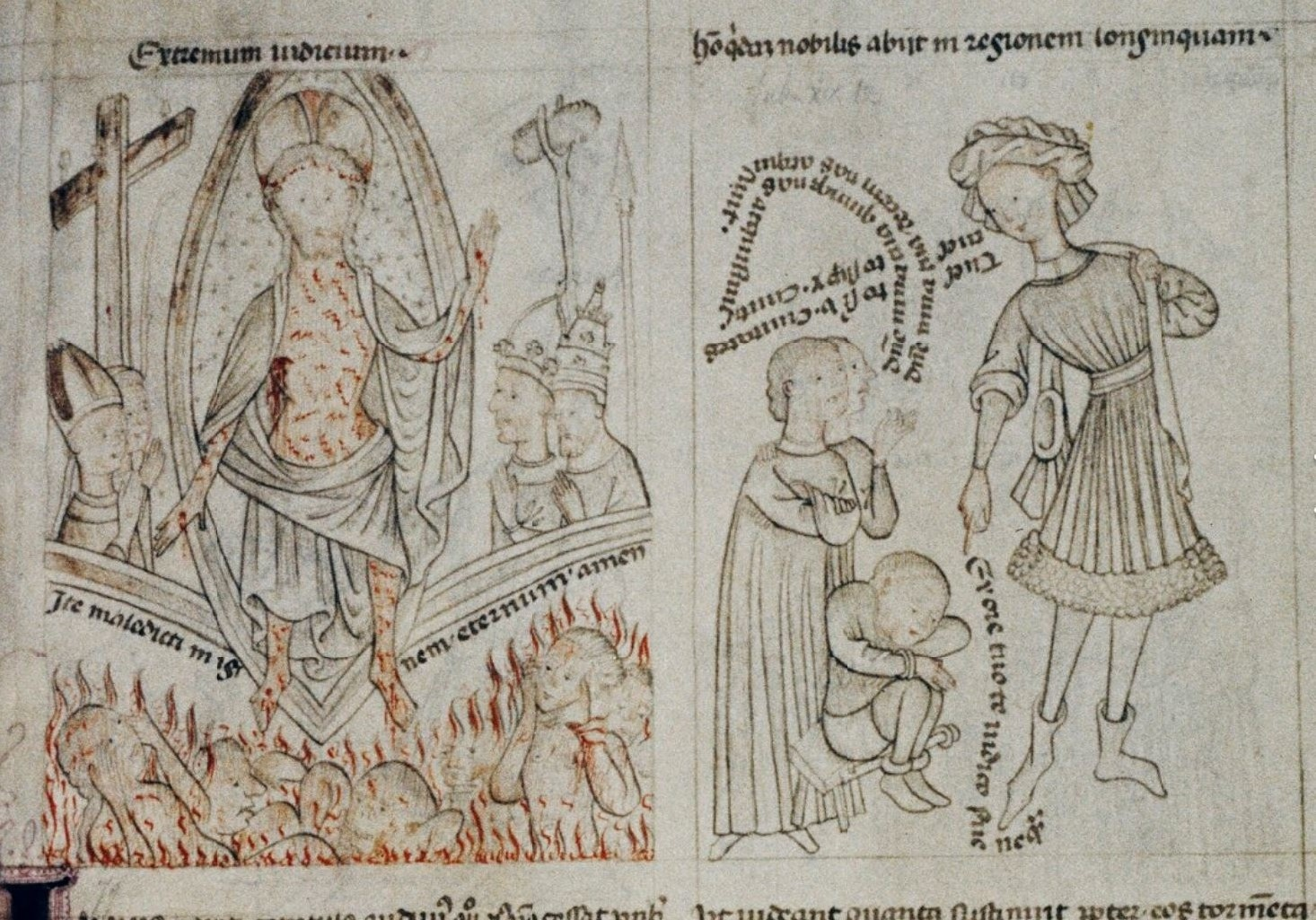 Speculum humanae salvationis 1430-50 Oxford, Bodleian Library Douce 204, fol. 40r