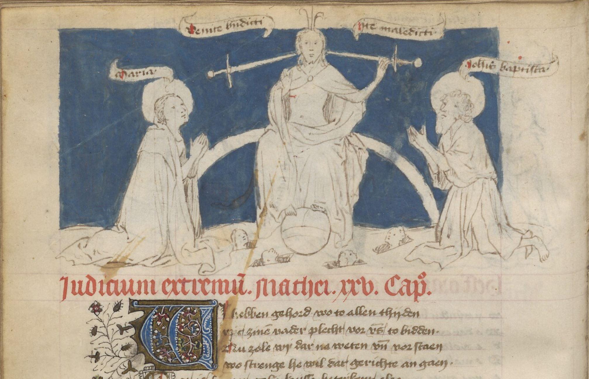 Speculum humanae salvationis, 1440 ca Copenhagen Kongelige Bibliotek GKS 79 fol. 80v