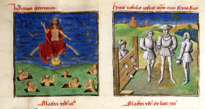 Speculum humanae salvationis 1460 ca Chicago, Newberry Library 40, fol. 40v