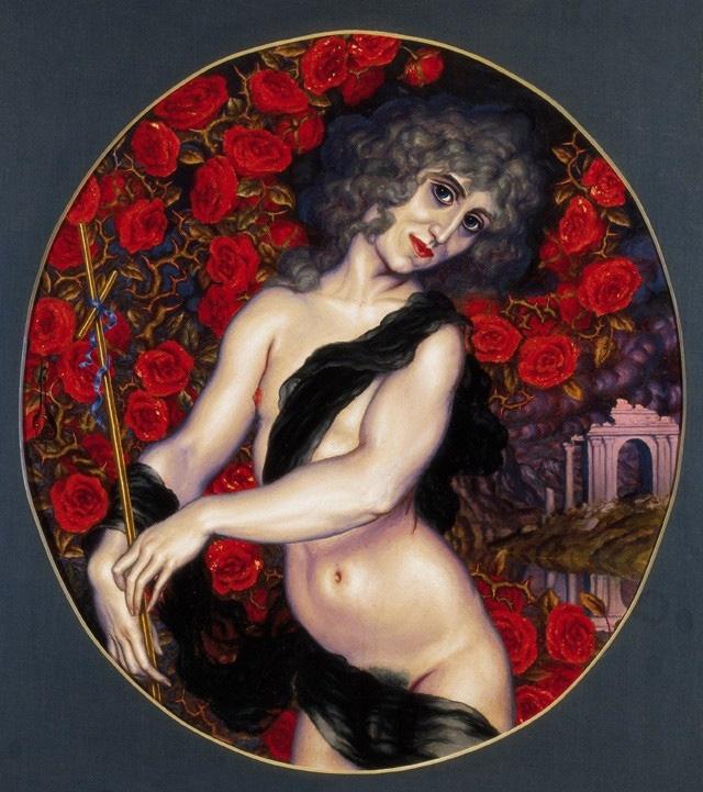 1921 Autoportrait en St Jean Baptiste