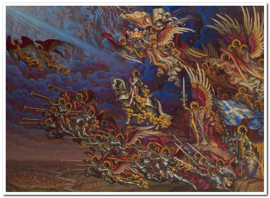 1930 Kalmakoff Le triomphe de Ste Jeanne d'Arc