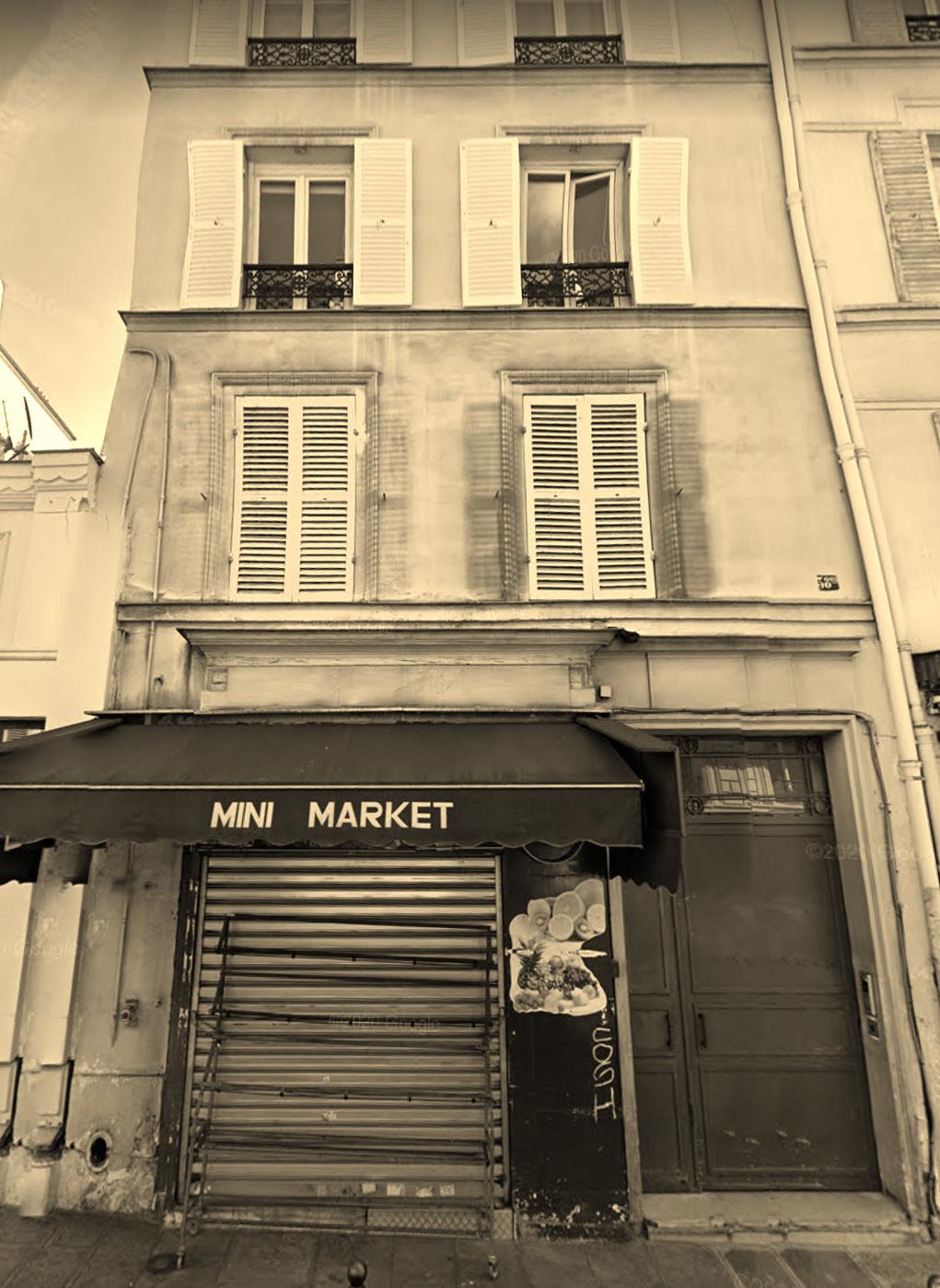 38 bis rue Fontaine Paris 18eme