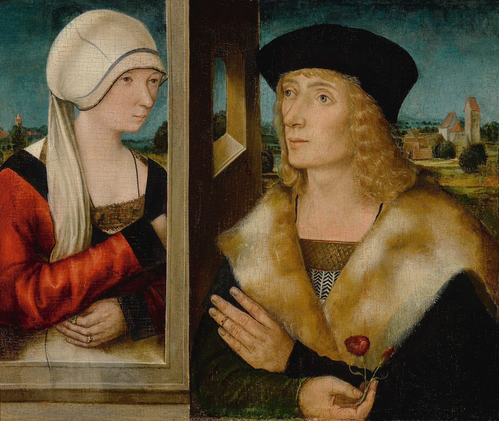 Bartholomaus Zeitblom attr 1505 ca coll part