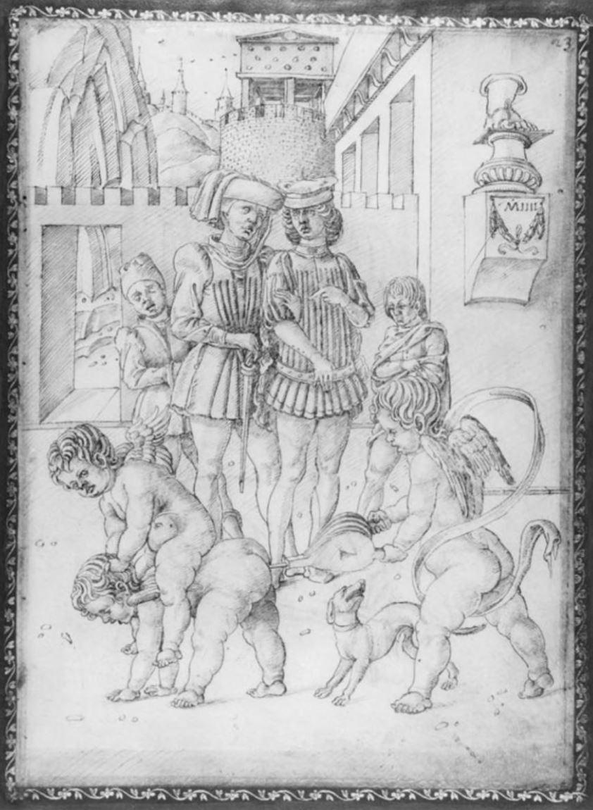 Marco Zoppo, vers 1450, British Museum detail